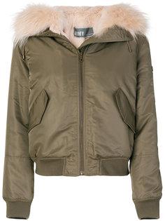 куртка-бомбер с отделкой  Army Yves Salomon