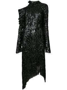 asymmetric sequin dress Magda Butrym