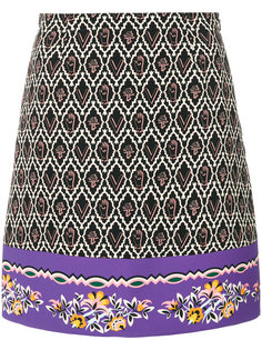 embroidered fitted skirt Vivetta