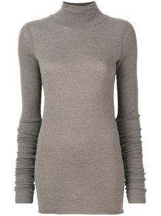 свитер-водолазка  Rick Owens Lilies