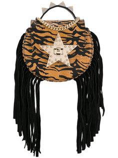 сумка на плечо с бахромой Salar