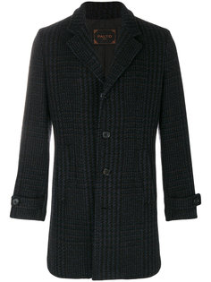 patterned coat Paltò