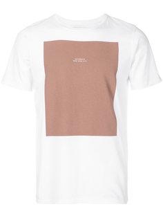 футболка с принтом прямоугольника Saturdays Nyc