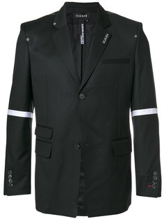 пиджак с полосками на рукавах Icosae