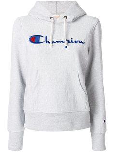 толстовка с капюшоном и логотипом  Champion