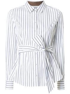 belted striped shirt Loveless