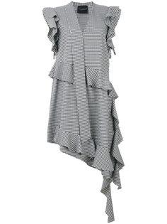 платье с оборками Vichy Erika Cavallini