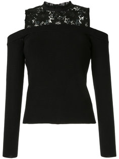 lace embroidered top Loveless