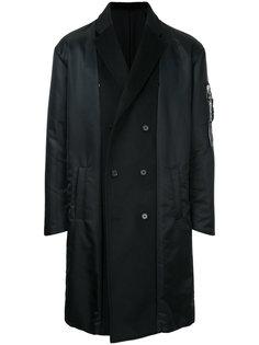 panelled double breasted coat  Yoshio Kubo