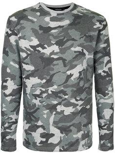 camouflage print sweatshirt  Loveless