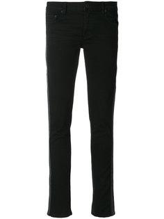 джинсы скинни в полоску  Off-White