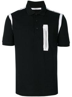 рубашка-поло с контрастной оторочкой Givenchy