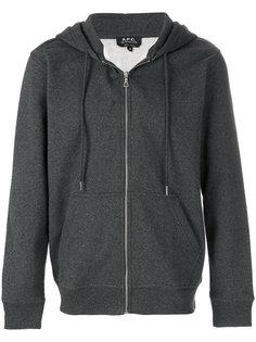 Locker zipped hoodie A.P.C.