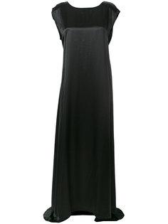 платье со складками на талии  Ann Demeulemeester