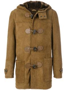 пальто с капюшоном из овчины Desa 1972