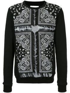 bandana print sweatshirt  Yoshio Kubo