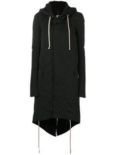 пальто с капюшоном  Rick Owens DRKSHDW