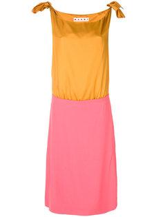 платье со вставкой  Marni