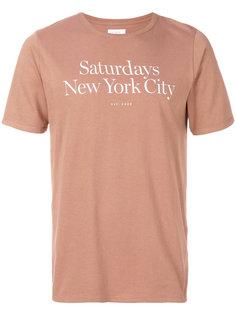 футболка Miller Saturdays Nyc