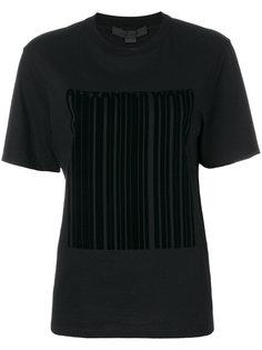 футболка со штрих кодом Alexander Wang