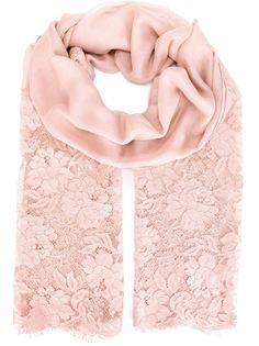 кружевной шарф Valentino