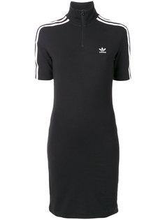 платье-футболка с тремя полосками  Adidas Originals
