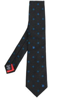галстук с узором в горох Paul Smith