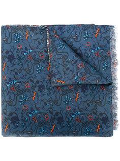 шарф с цветочным принтом Paul Smith