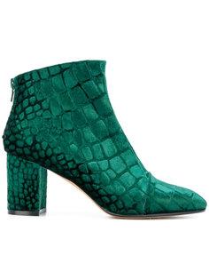 ботинки с закругленным носком и с принтом Jean-Michel Cazabat
