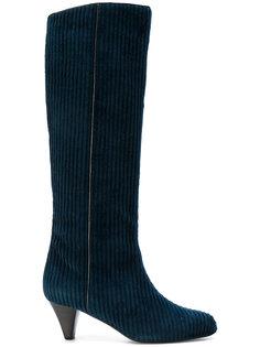ribbed boots  Michel Vivien