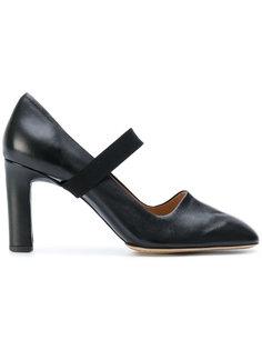 туфли с ремешками Santoni