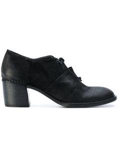 туфли на шнуровке Roberto Del Carlo