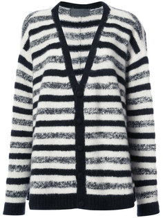 striped cashmere cardigan The Elder Statesman