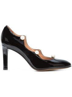лакированные туфли с жемчужными деталями LAutre Chose