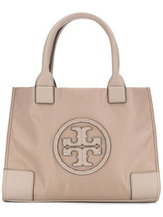 сумка-тоут с тисненым логотипом Tory Burch