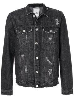 джинсовая куртка с потертой отделкой Won Hundred