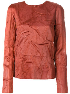 блузка с оборкой  Maison Margiela