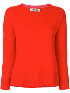 ребристый свитер с круглым вырезом Diane Von Furstenberg