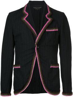 пиджак с ажурной окантовкой Comme Des Garçons Homme Plus