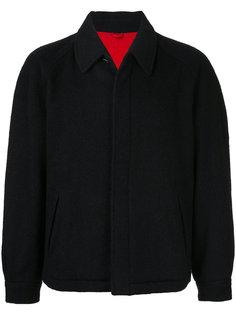 пальто с косым воротником Comme Des Garçons Homme Plus