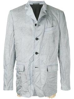 пиджак с кружевной отделкой Comme Des Garçons Homme Plus