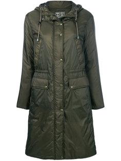 дутое пальто на молнии с капюшоном  Sempach