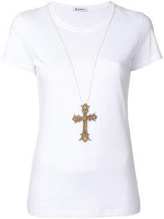 декорированная футболка Dondup