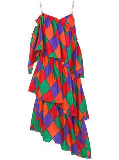 ярусное платье  Isa Arfen