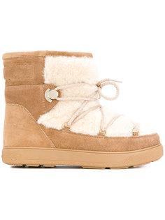 зимние ботинки New Fanny Moncler