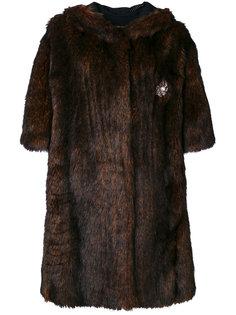пальто из искусственного меха  Faith Connexion