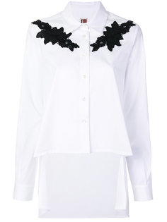 рубашка с кружевной аппликацией IM Isola Marras