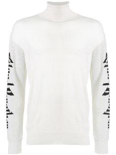 свитер с отворотной горловиной Twin  Blood Brother