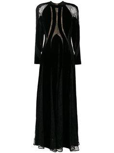 платье с вырезом  Elie Saab