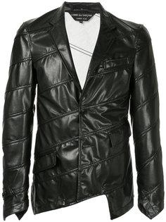 куртка с простроченной отделкой Comme Des Garçons Homme Plus